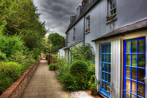 forthemanwhohaseverything england street greatbritain roads windows landscape camera unitedkingdom blue hdr colour britain jamespdeansphotography vanishingpoint objects hampshire architecture gb winchester europe uk digitaldownloadsforlicence