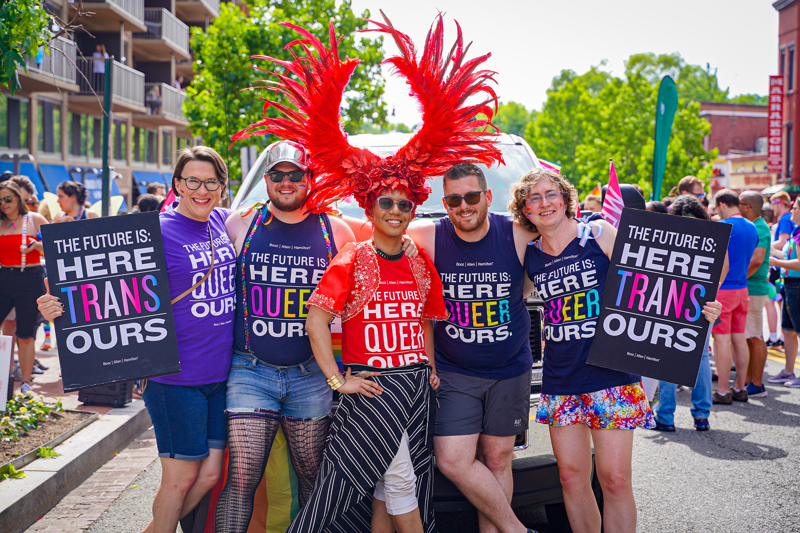Photos from the 2019 Capital Pride Parade, Washington, DC USA - The future is (authentically) ours