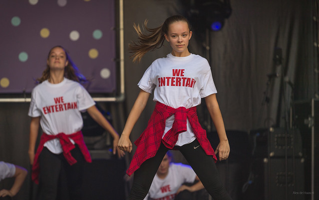 We Entertain dance performance.