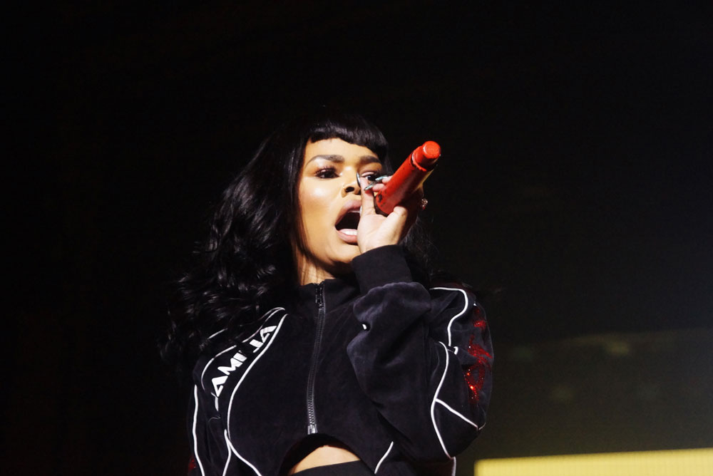 Teyana Taylor @ the Manhattan Center (Red Bull Festival)