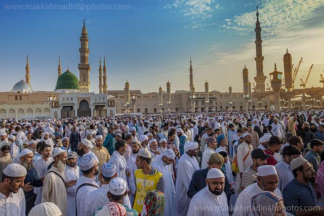 Madinah_eid prayer 2019_01