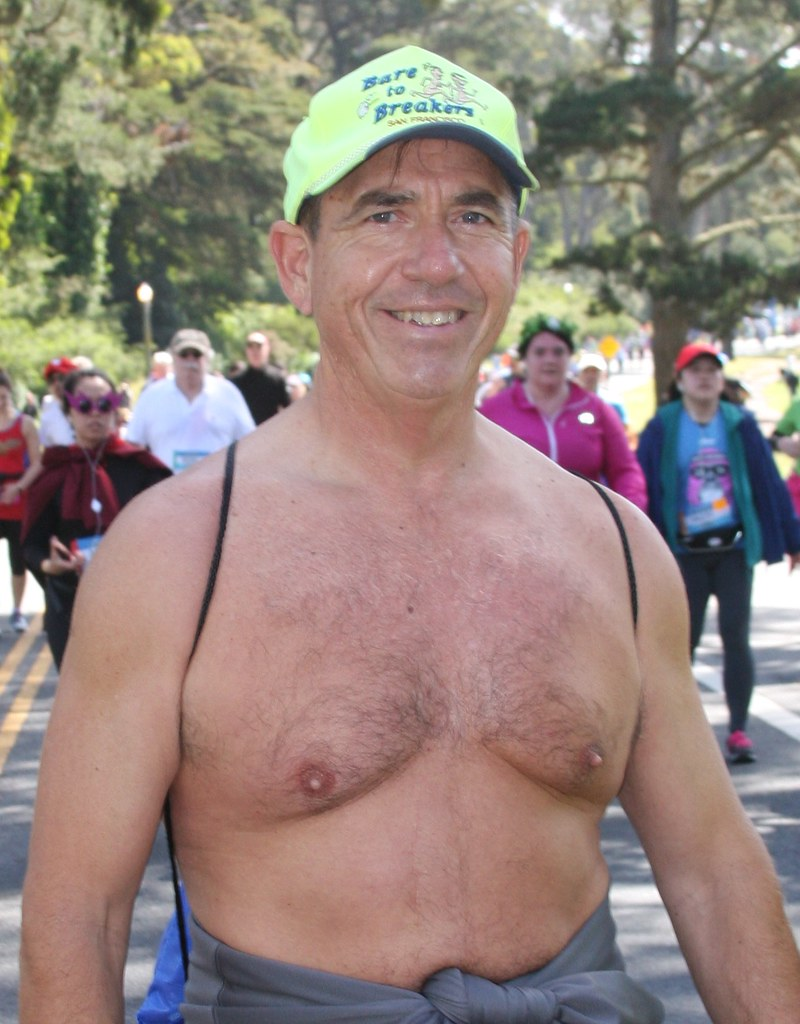 HELLA HOT & HUNKY STUD ! ~ BAY TO BREAKERS 2019 ! ( safe photo )
