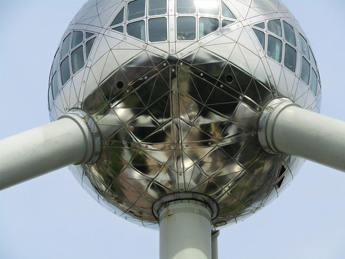 The Atomium in Brussels: Most Iconic Building in Belgium