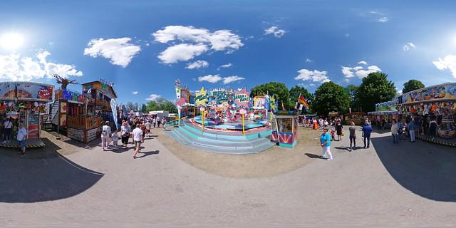 Neubrandenburg - Pfingstfest 360 Grad