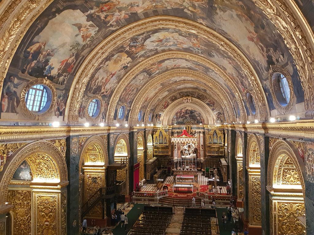 Konkatedra świętego Jana (St John's Co-Cathedral), Malta