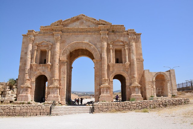 The arch of Hadrian (Jerash, Jordan 2019)