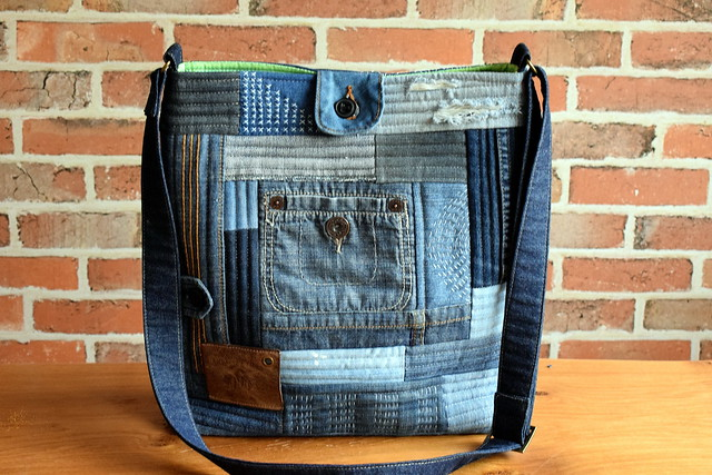 Denim Boro Bag
