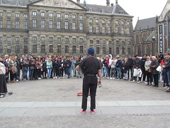 Street Performance Amsterdam, The Netherlands, May 10, 2019