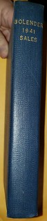 Bolender 1941 sales