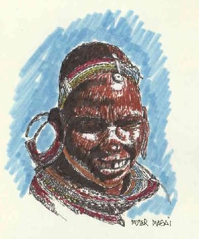 Mujer Maasai