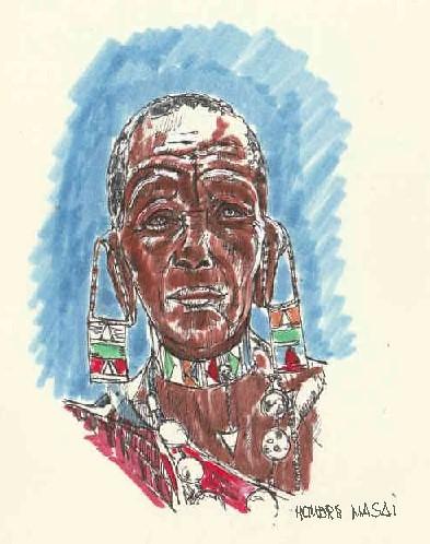 Hombre Maasai