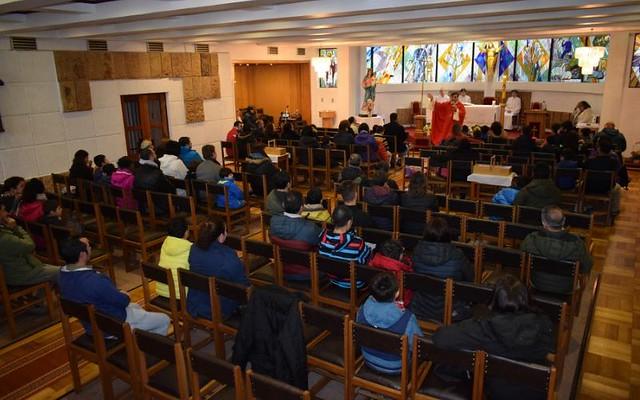 2° básicos A y B celebran PENTECOSTÉS