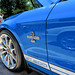 Blue Shelby Cobra GT 500 Supercharged