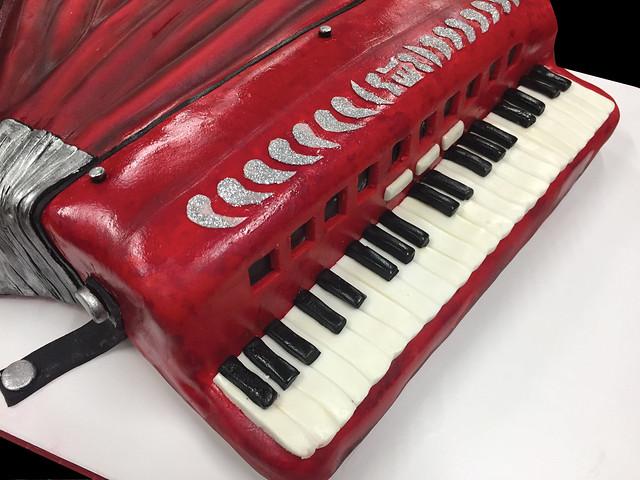 accordion-cake