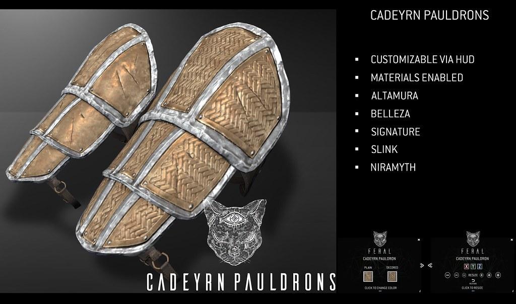 Feral – Cadeyrn Pauldron