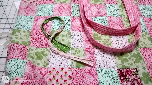 NEW straps on my mat bag