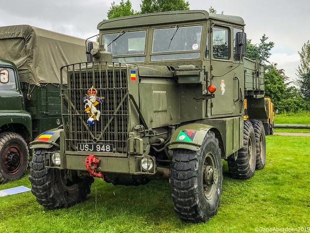 Military Vehicle Tattoo - GTM Alford Aberdeenshire Scotland - 09/06/19