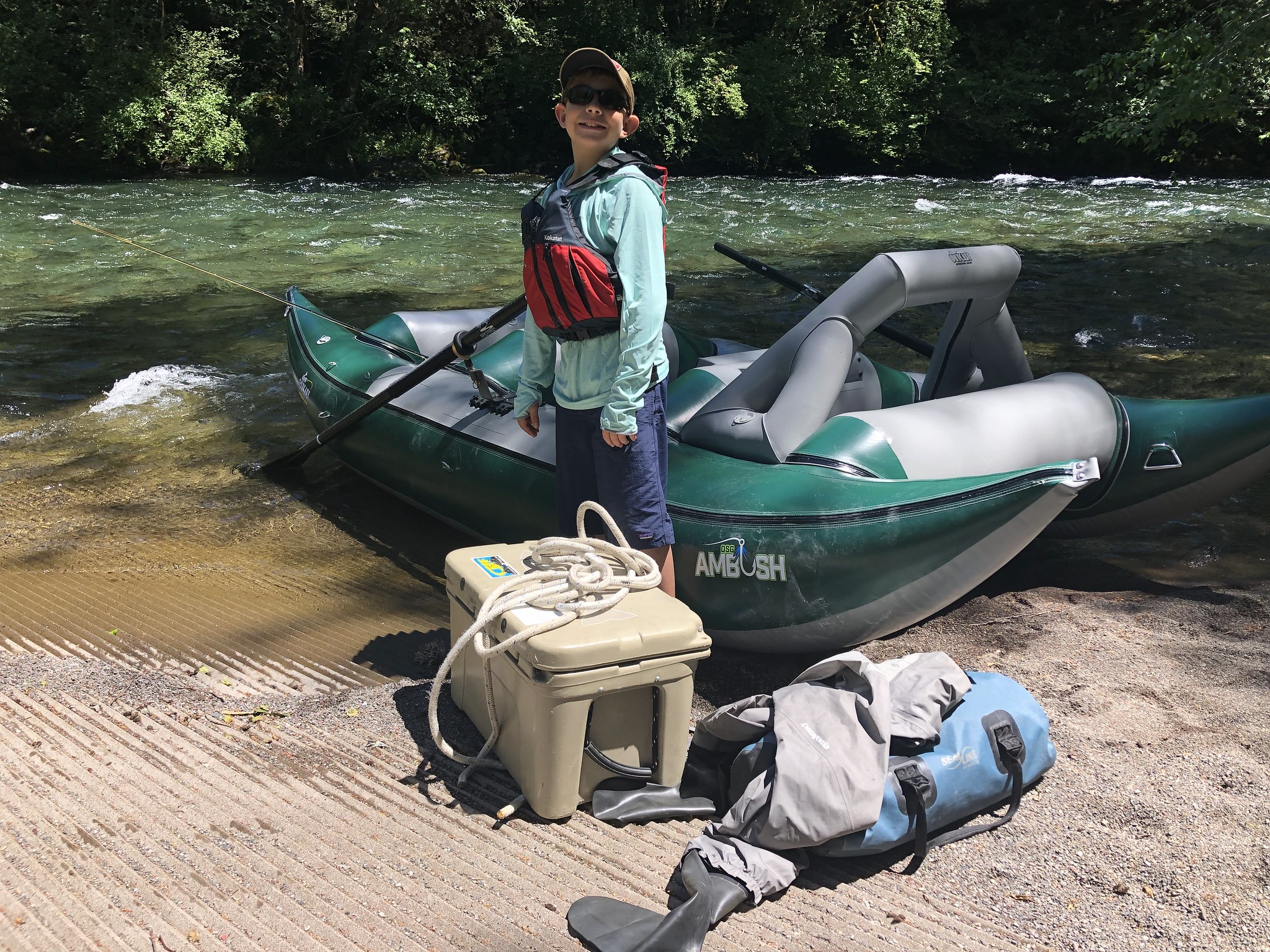 Outcast Sporting Gear's Frameless Ambush Raft Review   The