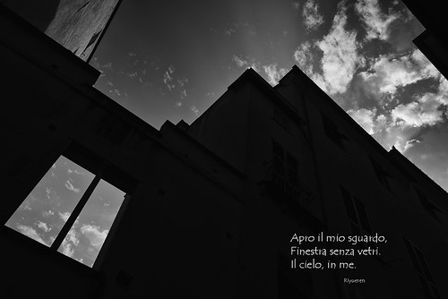 Finestra sul cielo (Fotopoesia)