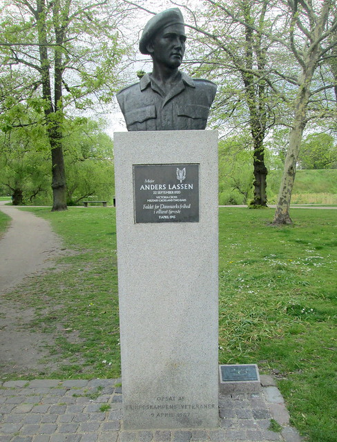 Memorial to Anders Lassen, Copenhagen