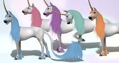 Lunistice: Fairy Dust Manes & Fluffs for Unicorn Teeglepet