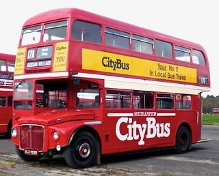 ALD 993B 'Southampton CityBus' No 404. AEC Routemaster / Park Royal on 'Dennis Basford's railsroadsrunways.blogspot.co.uk'