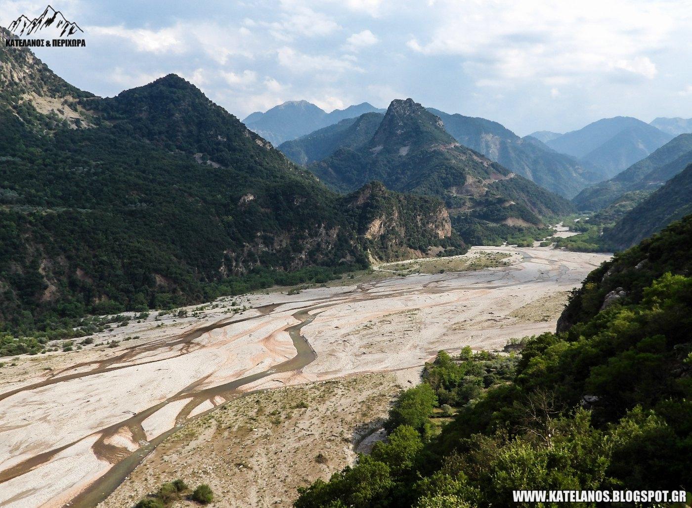 αγαλιανός ποταμός ευρυτανία τρικεριώτης κοιλάδα
