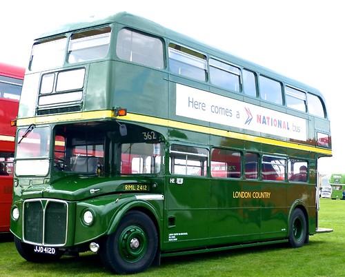 JJD 412D 'London Country' No. RML 2412. AEC Routemaster / Park Royal on 'Dennis Basford's railsroadsrunways.blogspot.co.uk'