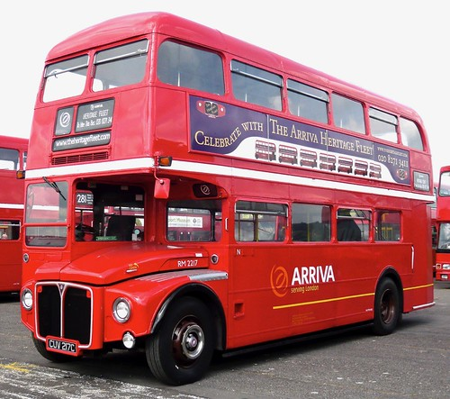 CUV 217C 'ARRIVA London' No. RM 2217. AEC Routemaster / Park Royal on 'Dennis Basford's railsroadsrunways.blogspot.co.uk'