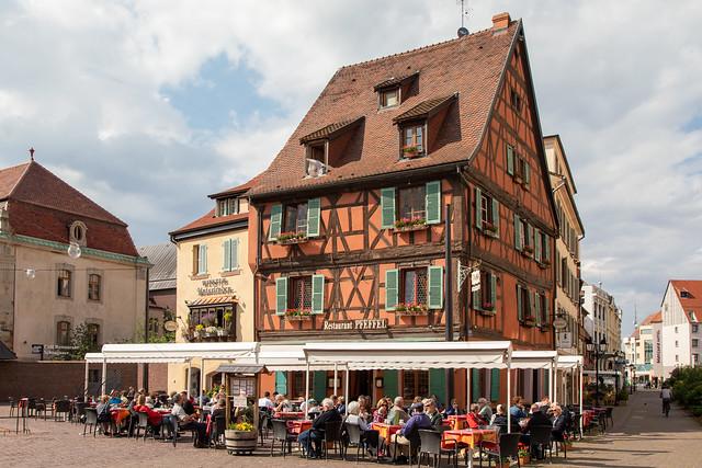 Restaurant Pfeffel in Colmar, France