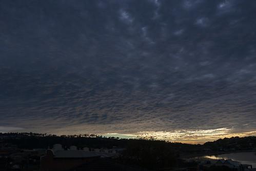 sky clouds cloudy cloudsstormssunsetssunrises merimbula weather