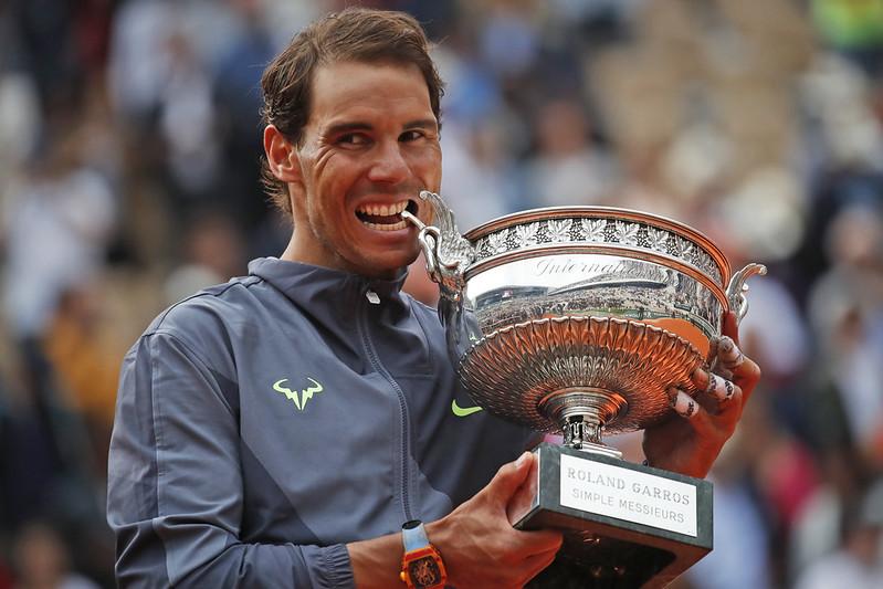 Rafael Nadal成就法網第12冠。(達志影像)