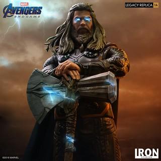 Iron Studios Legacy Replica 系列《復仇者聯盟:終局之戰》索爾 Thor 1/4 比例全身雕像作品