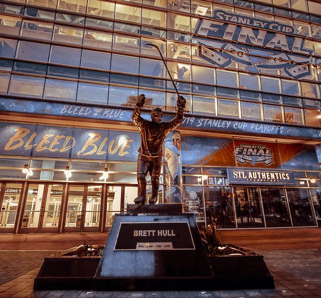 St. Louis 2019 Blues Brett Hull