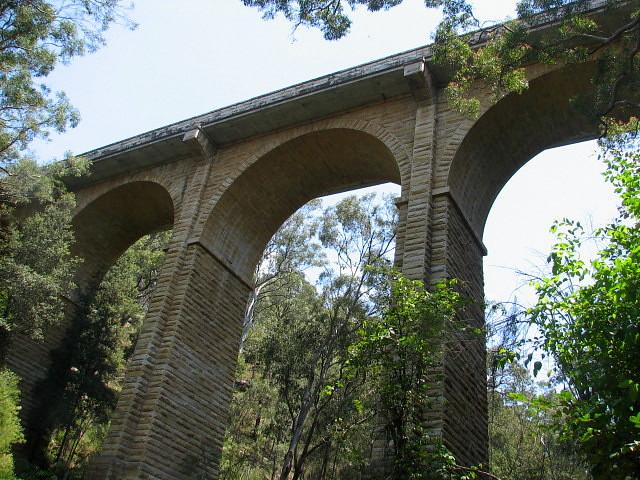 knapsack Bridge at Lapstone NSW.