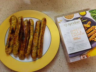 Syndian Cheesy Kale Sausages