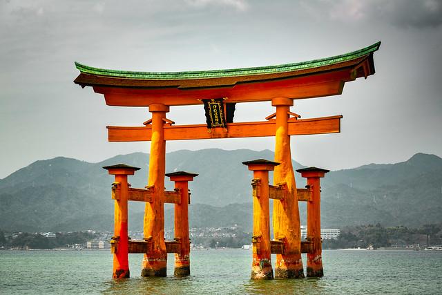 Itsukushima Floating Torii Gate - Itsukushima Island, Japan