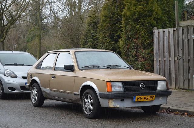 1982 Opel Kadett D HV-92-PF