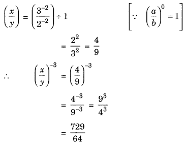 Exponents and Powers Class 8 Extra Questions Maths Chapter 12 Q12.1