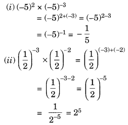 Exponents and Powers Class 8 Extra Questions Maths Chapter 12 Q3.1