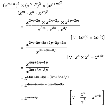 Exponents and Powers Class 8 Extra Questions Maths Chapter 12 Q15.1