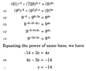 Exponents and Powers Class 8 Extra Questions Maths Chapter 12 Q14