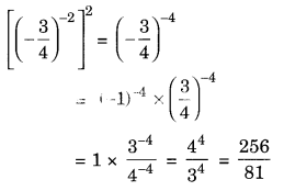 Exponents and Powers Class 8 Extra Questions Maths Chapter 12 Q9