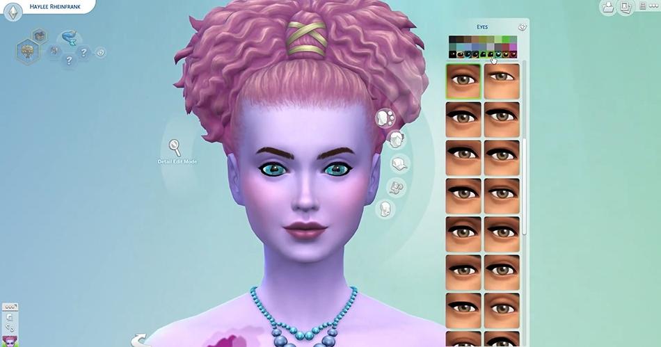 Sims 4 Pupilas Sereias Aleatorização Traços