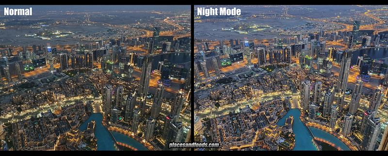 s10 plus night mode comparison dubai