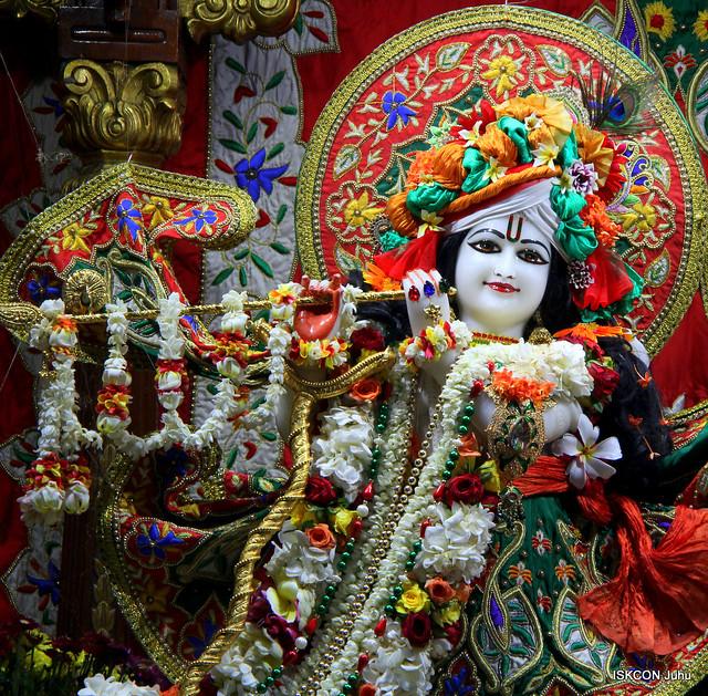 ISKCON Juhu Sringar Deity Darshan on 10th June 2019