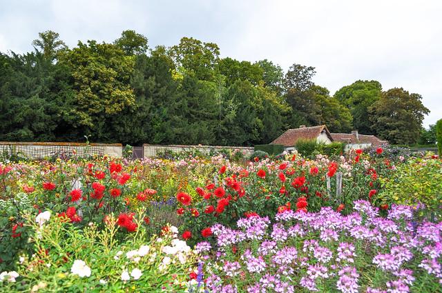 Les jardins de Bouges le Château