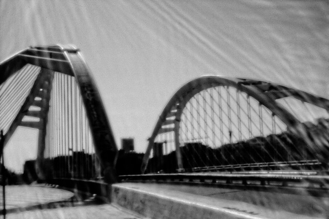 Puente de Calatrava-02. Barcelona. Pinhole. Estenopeica-10-06-2019