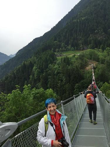 trattano valtartano tibetanbridge pontetibetano sondrio montagne ponte mountains bridge sky cielo
