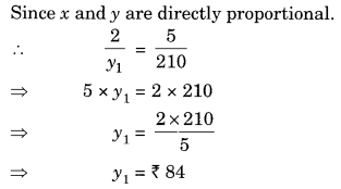 Direct and Inverse Proportions Class 8 Extra Questions Maths Chapter 13 Q12.1